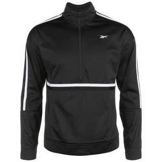 Reebok Workout Ready Tricot Sweatshirt Herren schwarz / weiß