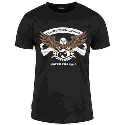 Unfair Athletics DC Established T-Shirt Herren schwarz / weiß