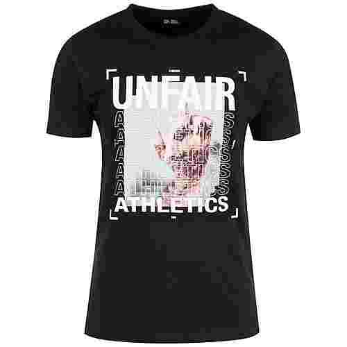 Unfair Athletics F*** You All T-Shirt Herren schwarz / weiß