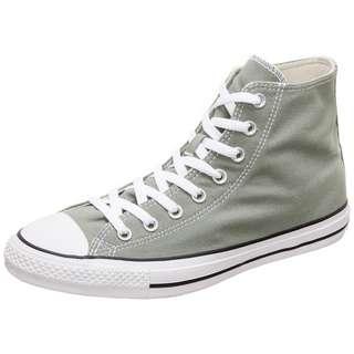 CONVERSE High Top Sneaker Herren graugrün / weiß