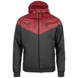 Nike AS Rom Authentic Windrunner Trainingsjacke Herren schwarz / rot