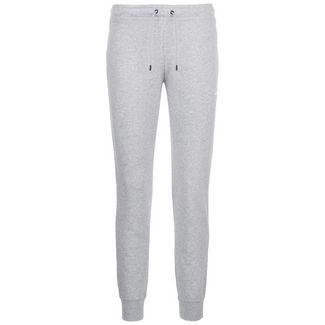 Nike Essential Fleece Trainingshose Damen grau / weiß