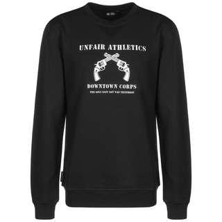 Unfair Athletics Only Easy Day Sweatshirt Herren schwarz / weiß
