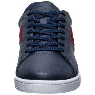 Lacoste Carnaby Evo 319 Sneaker Herren blau / rot