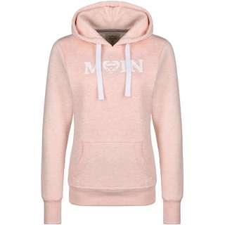 VAN ONE Moin Used VW Bulli Hoodie Damen rosa