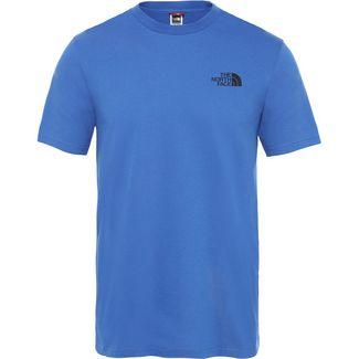 The North Face Simple Dome T-Shirt Herren blau