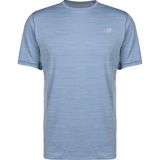 NEW BALANCE Seasonless Laufshirt Herren blau