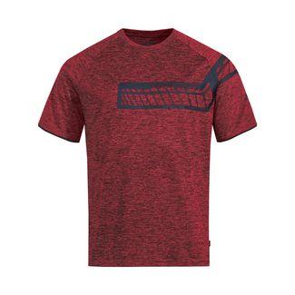 VAUDE Men's Moab T-Shirt V Fahrradtrikot Herren carmine