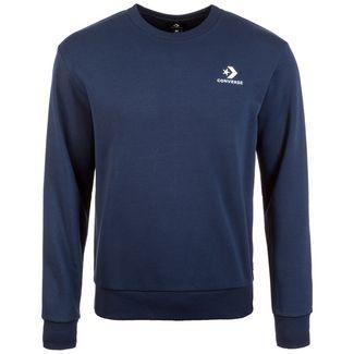CONVERSE Star Chevron Embossed Crew Sweatshirt Herren dunkelblau
