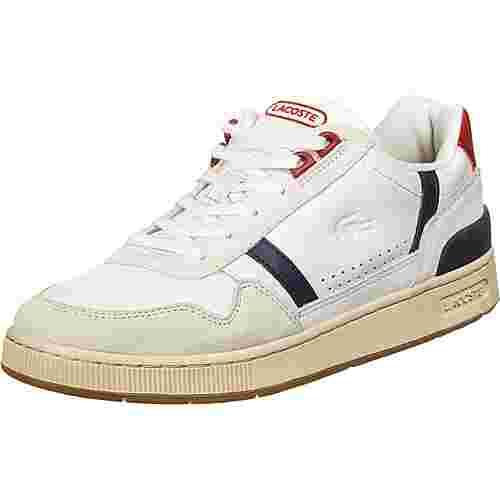 Lacoste T-Clip Sneaker Herren weiß / dunkelblau