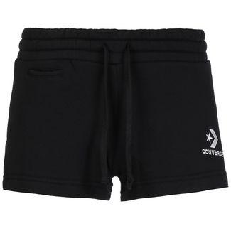 CONVERSE Star Chevron EMB Shorts Damen schwarz