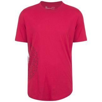 Under Armour Baseline Flip Side Basketball Shirt Herren rot