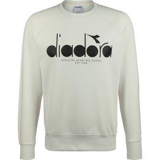 Diadora 5 Palle Crew Sweatshirt Herren hellgrau / schwarz