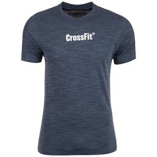 Reebok CrossFit® Marble Mélange Funktionsshirt Herren dunkelblau