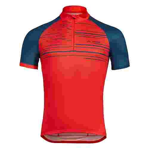 VAUDE Men's Mitus Tricot Fahrradtrikot Herren mars red