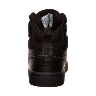 Nike Court Borough Mid Sneaker Kinder schwarz