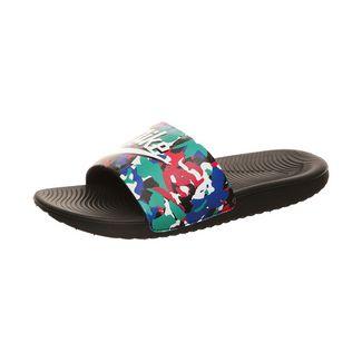 Nike Kawa Slide Sandalen Kinder schwarz / blau