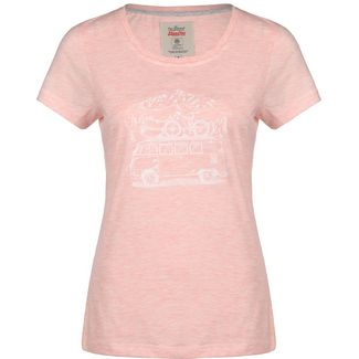 VAN ONE Zugspitze VW Bulli T-Shirt Damen rosa