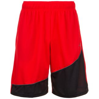 Under Armour Baseline Basketball-Shorts Herren rot / schwarz