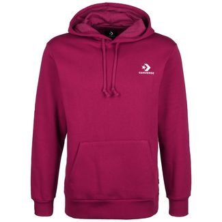 CONVERSE Star Chevron Embroidered Hoodie Herren pink