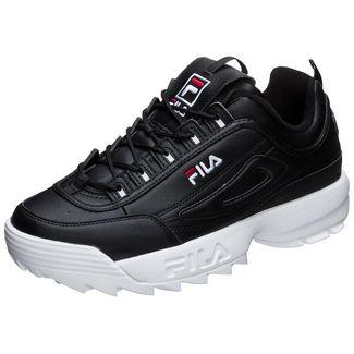 FILA Heritage Disruptor Low Sneaker Herren schwarz