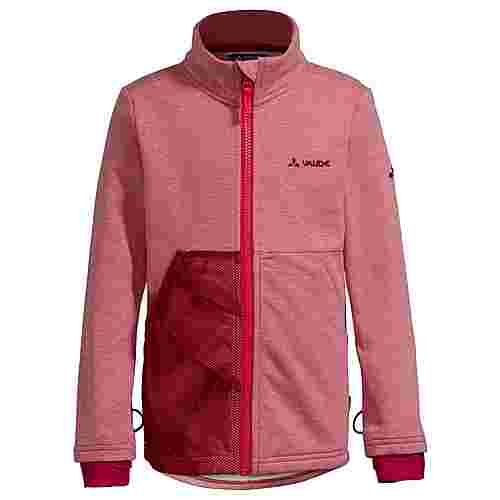 VAUDE Kids Faunus Fleece Jacket Fleecejacke Kinder cranberry
