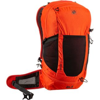 Jack Wolfskin Kingston 30 Recco Wanderrucksack lava red