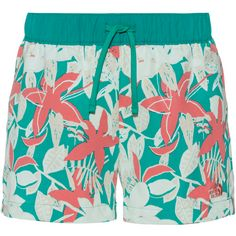 The North Face Class Shorts Damen jaiden green small festive floral print