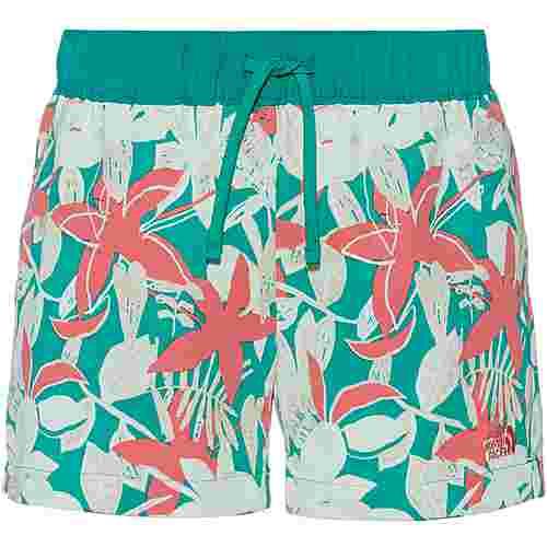 The North Face Class Shorts Damen jaiden green small festive floral print