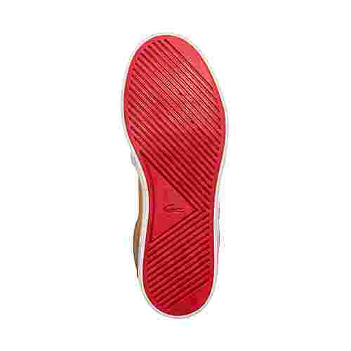 Lacoste Ampthill Thermo 419 Sneaker Kinder hellbraun