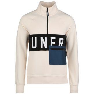 Unfair Athletics UNFR Half-Zip Sweatshirt Herren beige / schwarz