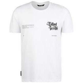 Unfair Athletics Enfant Terrible T-Shirt Herren weiß / schwarz