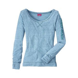 VENICE BEACH Sweatshirt Damen türkis-meliert
