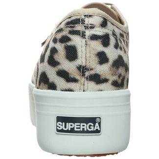 Superga 2790-Fantasy Sneaker Damen beige / schwarz