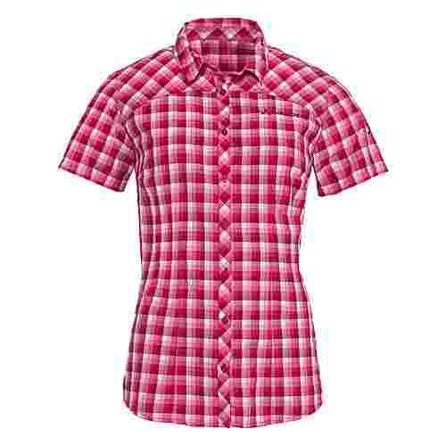 VAUDE Women's Tacun Shirt Funktionsbluse Damen crimson red
