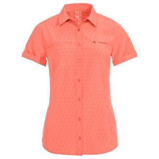 VAUDE Women's Rosemoor Shirt Funktionsbluse Damen pink canary