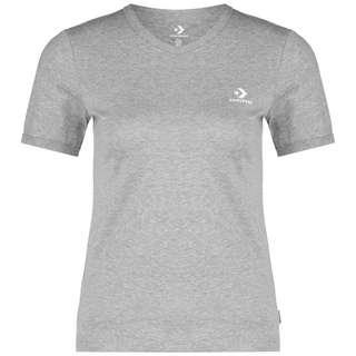 CONVERSE Slim T-Shirt Damen hellgrau