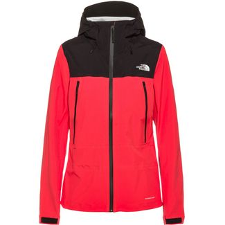 The North Face Tente Hardshelljacke Damen cayenne red/tnf black