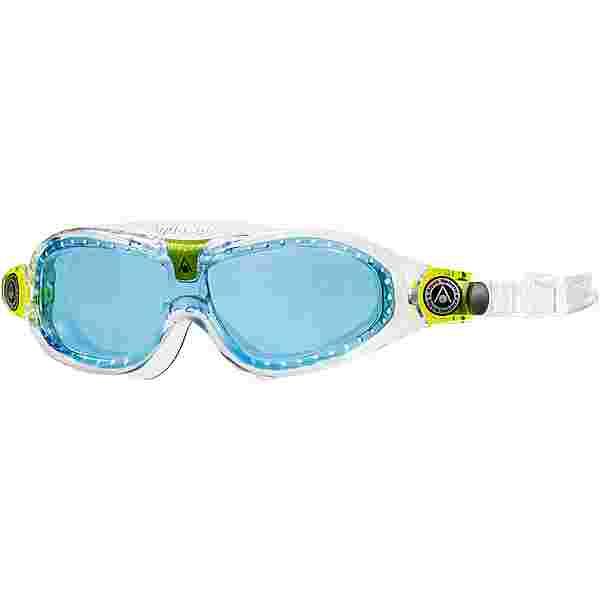 Aquasphere Seal Kid 2 Schwimmbrille Kinder blue lens-clear lime