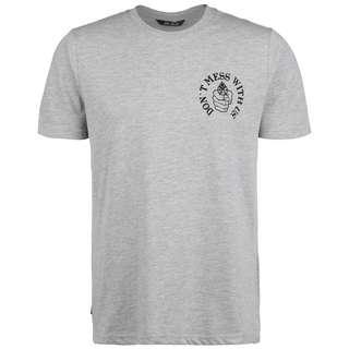 Unfair Athletics Revolver T-Shirt Herren hellgrau / schwarz