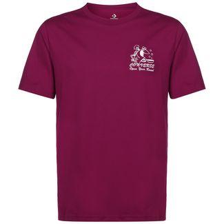 CONVERSE Fish Fry Shop T-Shirt Herren weinrot