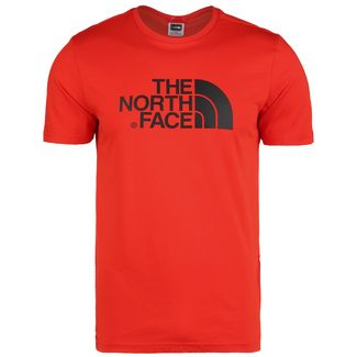 The North Face Easy T-Shirt Herren rot / schwarz