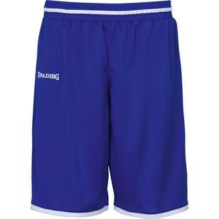 Spalding Move Basketball-Shorts Herren blau / weiß