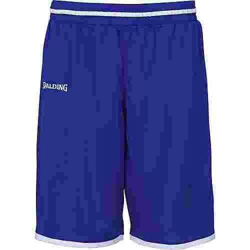 Spalding Move Basketball-Shorts Herren blau / weiß