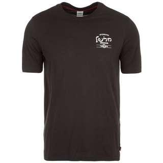 Herschel Tee T-Shirt Herren schwarz / weiß