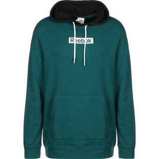 Reebok Training Essentials Linear Logo Hoodie Herren grün / schwarz