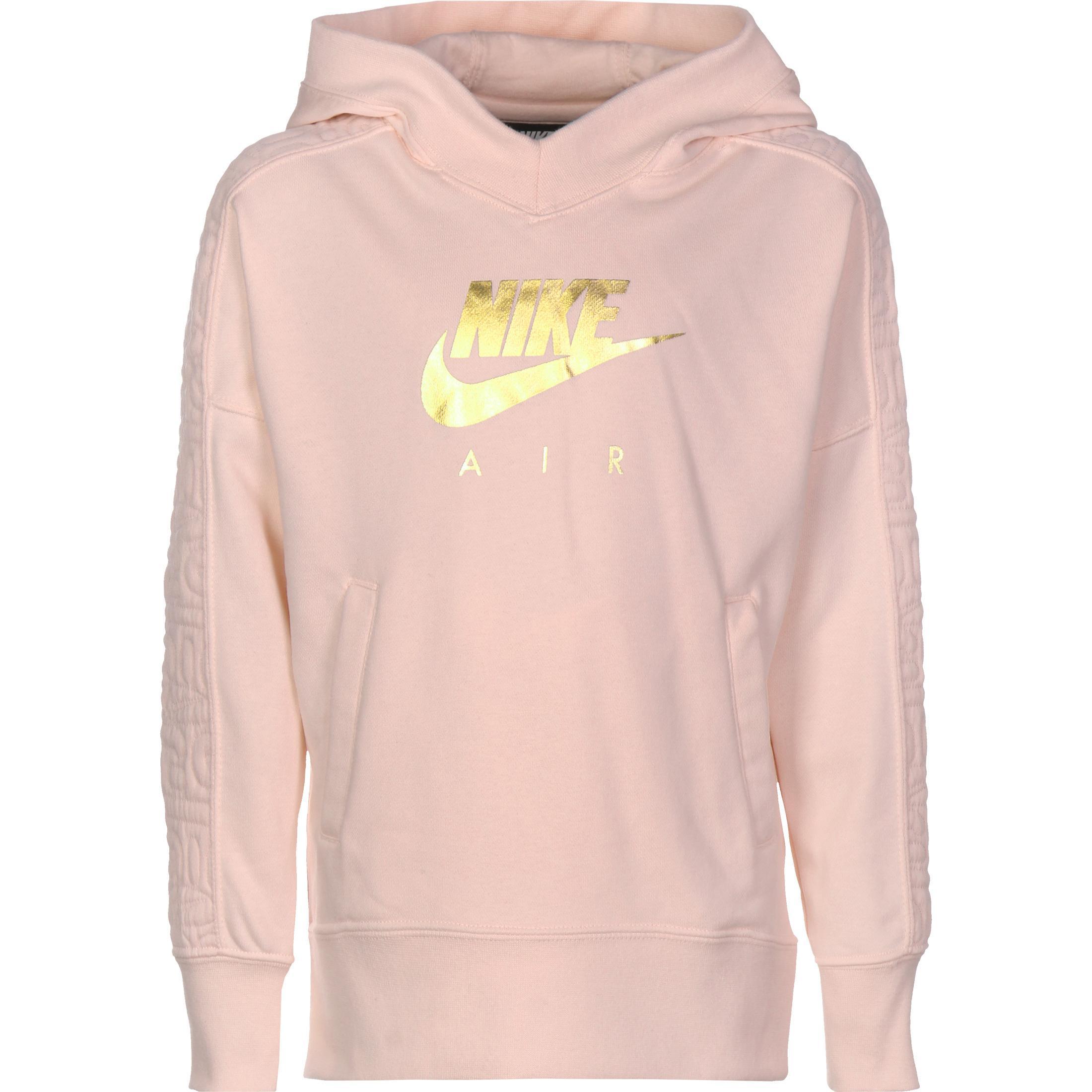Nike Air GX Hoodie Mädchen rosa gold im Online Shop von SportScheck kaufen