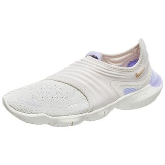 Nike Free RN Flyknit 3.0 Laufschuhe Damen beige / violett