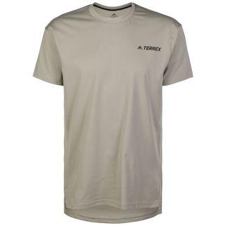 adidas Primeblue Log Funktionsshirt Herren beige / khaki