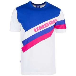 UMBRO Sector Crew T-Shirt Herren weiß / blau